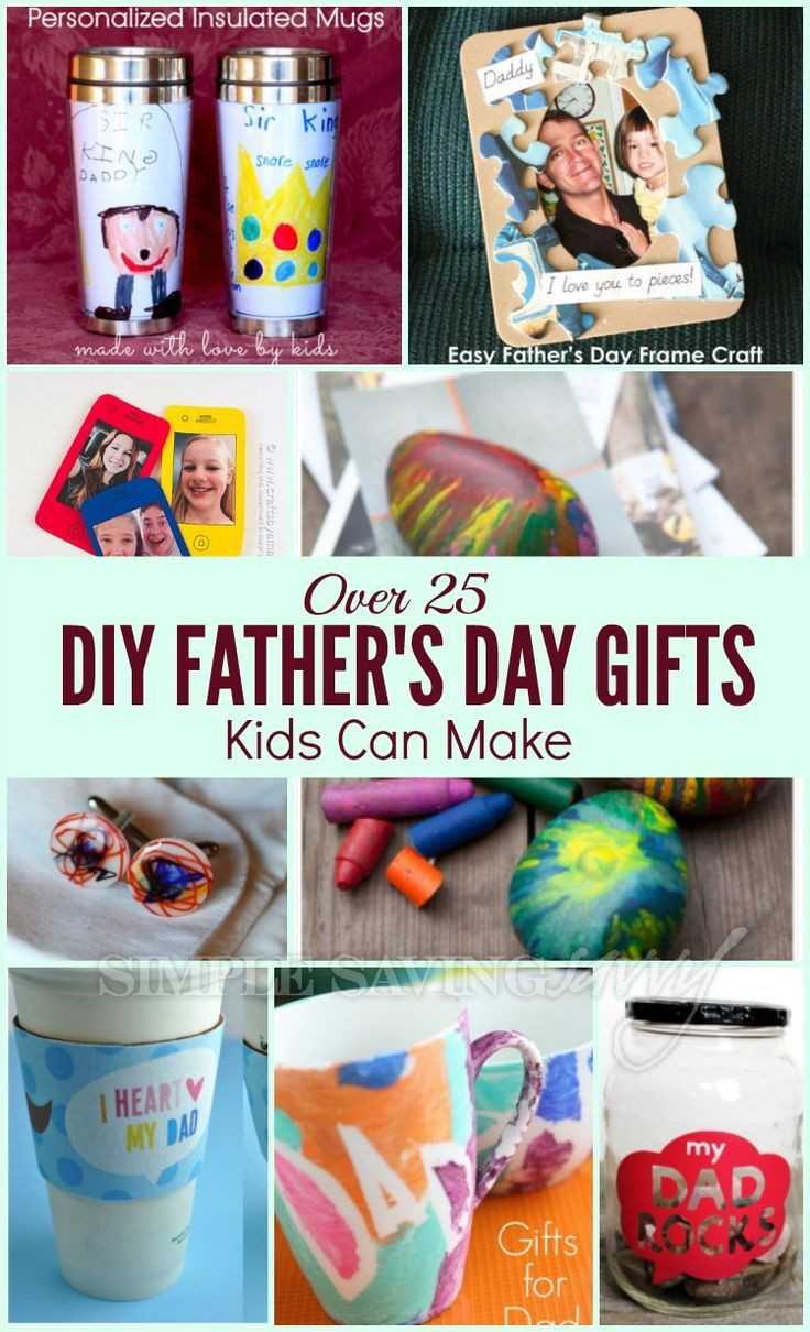 Best ideas about DIY Father'S Day Gifts From Kids . Save or Pin Over 25 DIY Father s Day Gifts Kids Can Make Now.