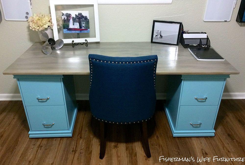 Best ideas about DIY File Cabinet Desk . Save or Pin DIY Filing Cabinet Desk Now.