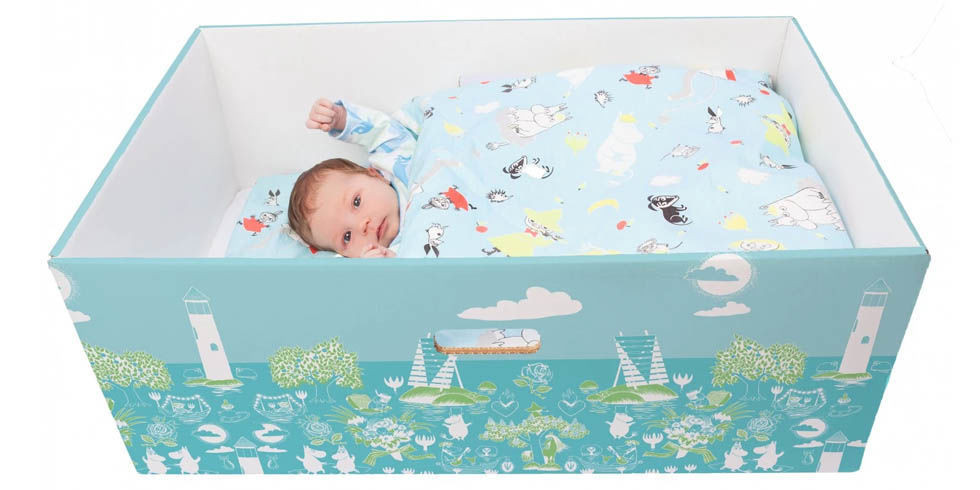 Best ideas about DIY Finnish Baby Box . Save or Pin In Finland Babies Sleep in Boxes Finnish Baby Boxes Now.