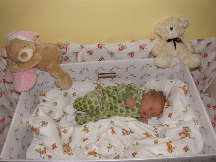 Best ideas about DIY Finnish Baby Box . Save or Pin Newborn Finnish baby girl sleeping in a cardboard box Now.