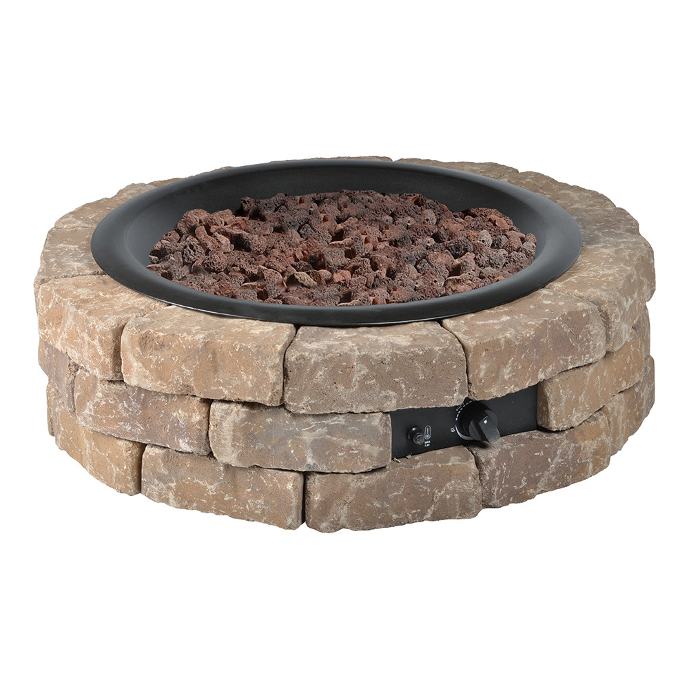 Best ideas about DIY Fire Pit Kit . Save or Pin DIY Round Gas Fire Pit Kit – Bond MFG Heating Now.