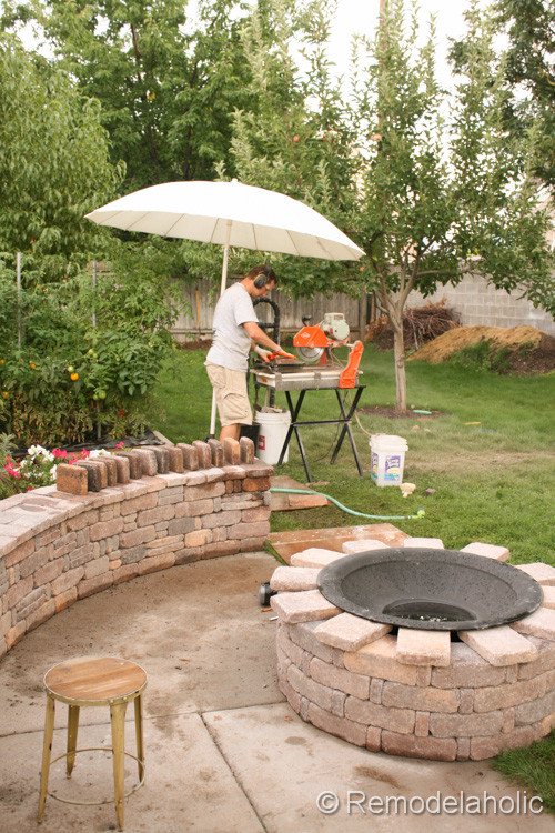 Best ideas about DIY Fire Pit Kit . Save or Pin Diy RumbleStone Seat Wall and Fire Pit Kit Installation Now.