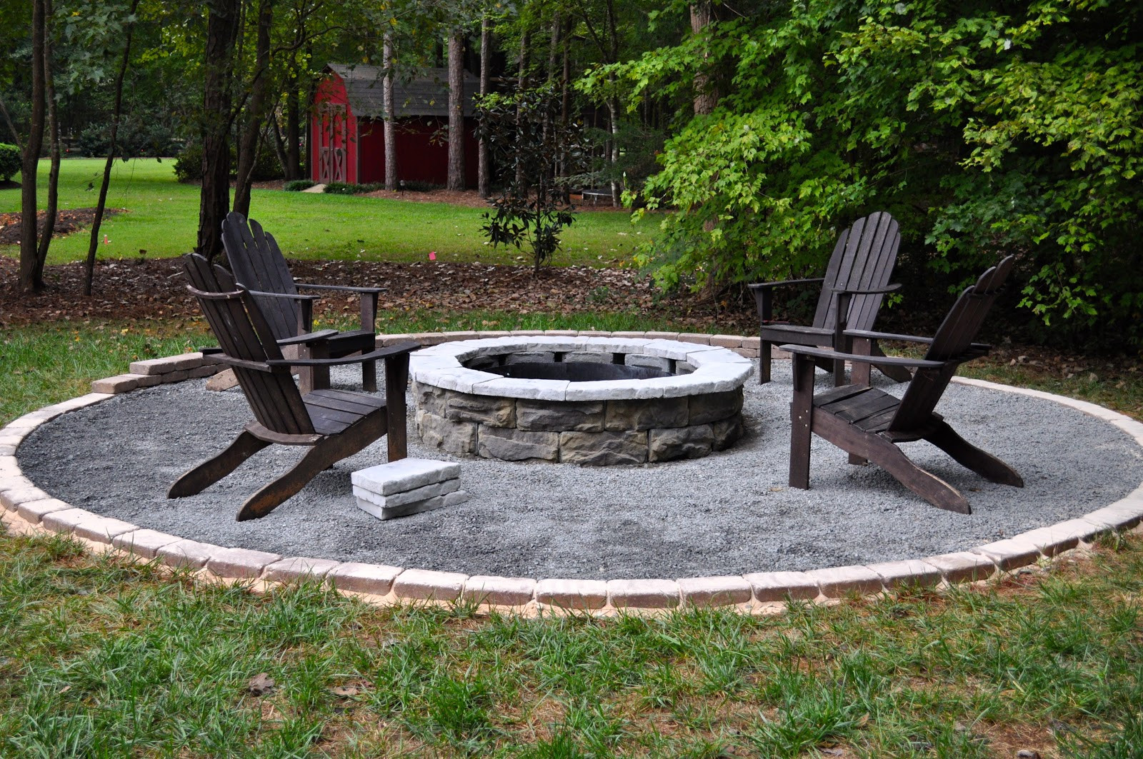 Best ideas about DIY Fire Pit Kit . Save or Pin The Collected Interior Our Diy Fire Pit Now.