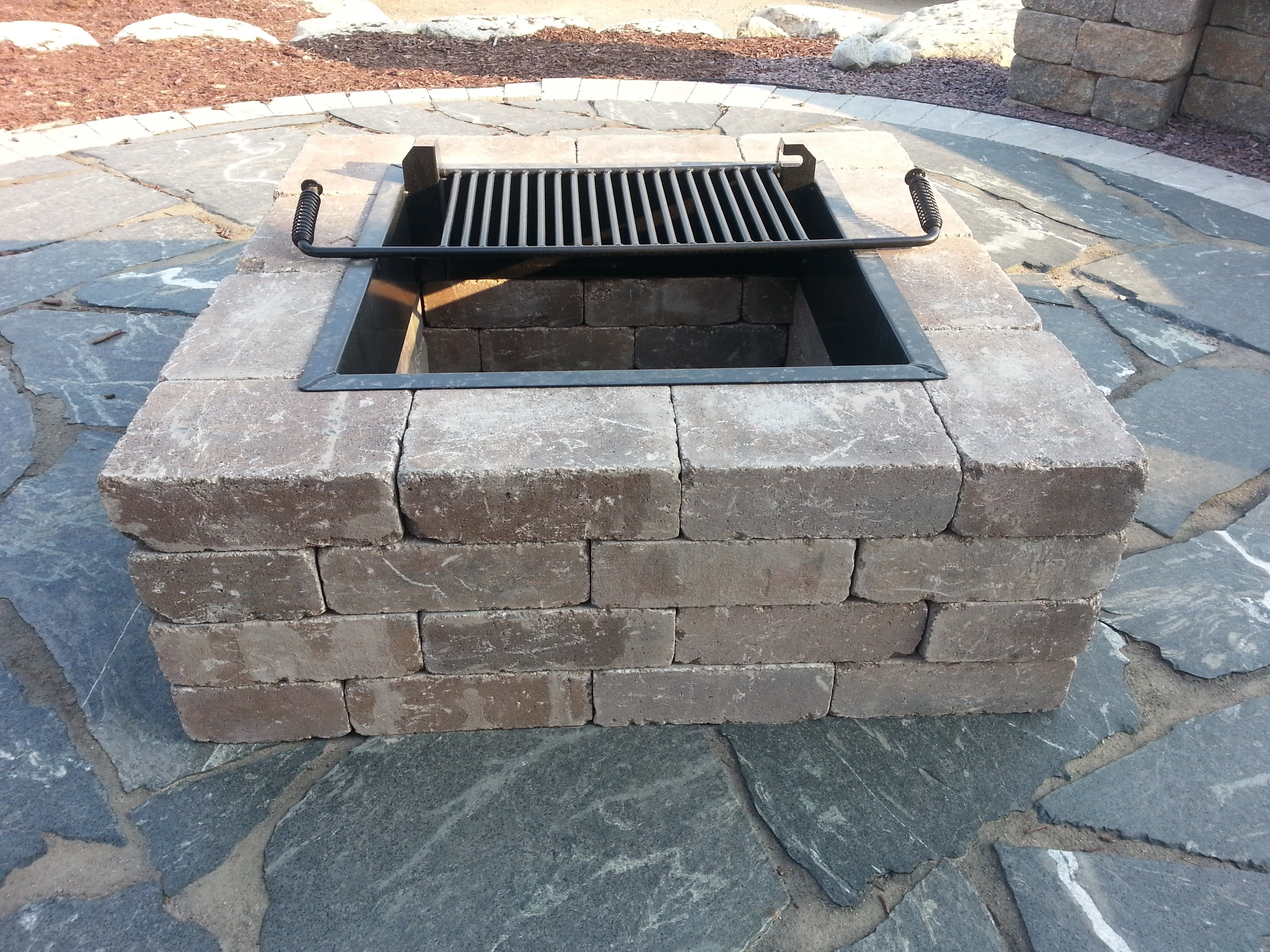 Best ideas about DIY Fire Pit Kit . Save or Pin Fireplaces Landscape Fire Pits — Bistrodre Porch and Now.