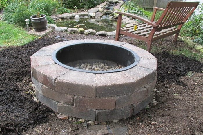 Best ideas about DIY Fire Pit Kit . Save or Pin How Much Does it Cost to Install a Fire Pit Now.