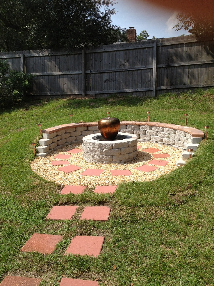 Best ideas about DIY Fire Pit Pinterest . Save or Pin Pin by Haley Crayton on Fire Pit Ideas Now.