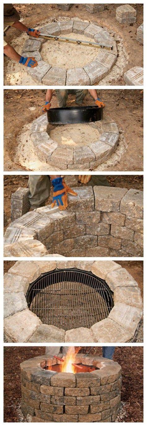 Best ideas about DIY Fire Pit Pinterest . Save or Pin 1000 ideas about Backyard Fire Pits on Pinterest Now.