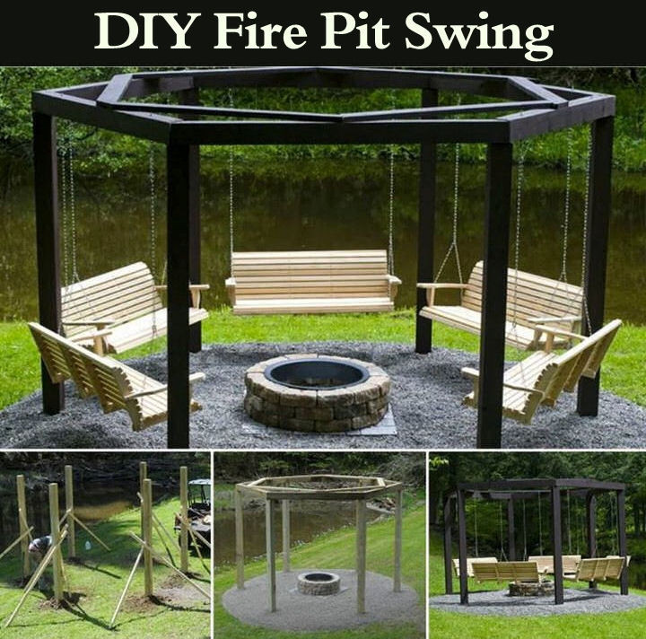 Best ideas about DIY Fire Pit Pinterest . Save or Pin DIY Fire Pit Swing s and for Now.