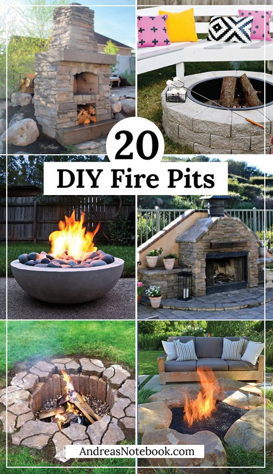 Best ideas about DIY Fire Pit Pinterest . Save or Pin 20 DIY Fire Pit Tutorials Outdoor Spaces Now.
