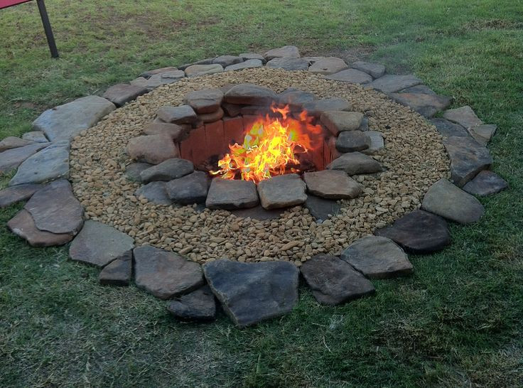 Best ideas about DIY Fire Pit Pinterest . Save or Pin DIY firepit might try to build this while Mike builds the Now.