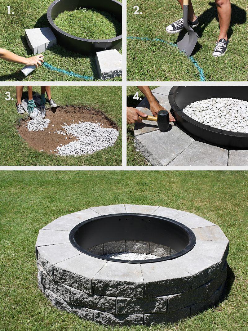 Best ideas about DIY Fire Pit Pinterest . Save or Pin Best 25 Fire pit ring ideas on Pinterest Now.