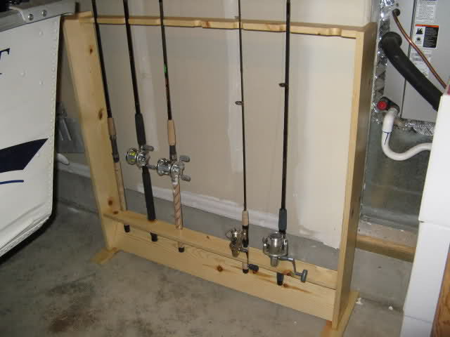 Best ideas about DIY Fishing Pole Rack . Save or Pin Fishing Rod Rack DIY With and Steps Now.