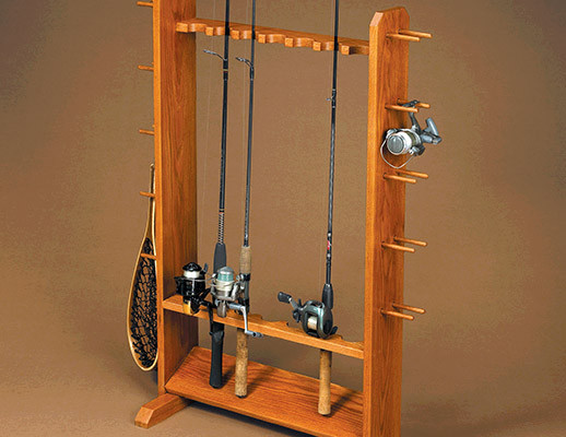 Best ideas about DIY Fishing Pole Rack . Save or Pin Fishing Pole Rack Now.