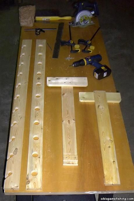 Best ideas about DIY Fishing Rod Storage . Save or Pin diy fishing pole storage Now.
