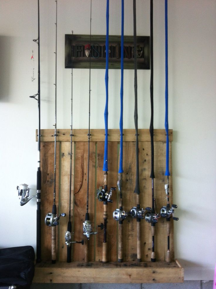 Best ideas about DIY Fishing Rod Storage . Save or Pin ly best 25 ideas about Fishing Rod Rack on Pinterest Now.