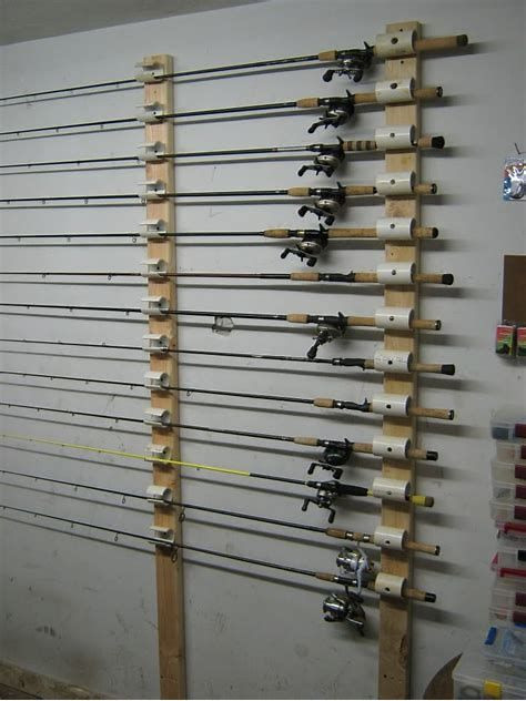 Best ideas about DIY Fishing Rod Storage . Save or Pin Image result for Ceiling Mount Fishing Rod Rack Now.