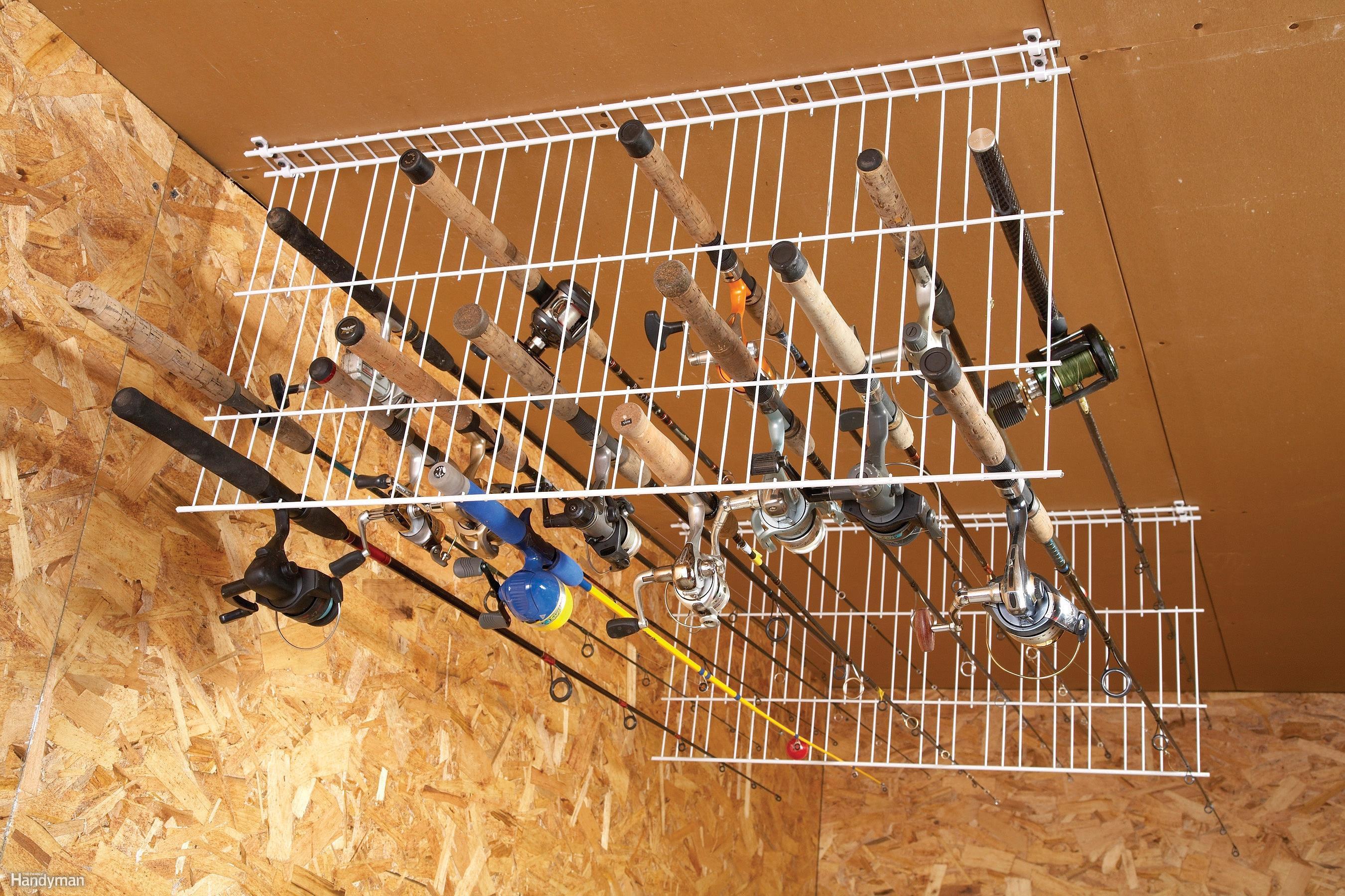 Best ideas about DIY Fishing Rod Storage . Save or Pin Sneak Peek Ingenious Garage Storage Ideas DIY Advice Now.