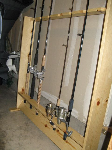 Best ideas about DIY Fishing Rod Storage . Save or Pin Wood Fishing Rod Racks Home WoodWorking Projects & Plans Now.