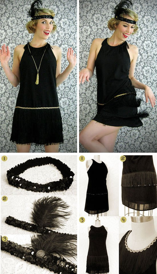 Best ideas about DIY Flapper Costume . Save or Pin 30 Easy DIY Halloween Costumes for Women Now.