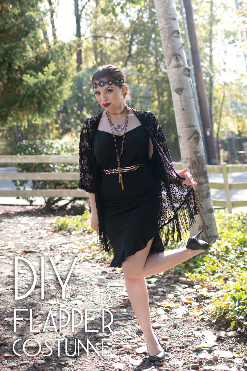 Best ideas about DIY Flapper Costume . Save or Pin DIY Flapper Costume Hello Rigby Seattle Fashion & Beauty Now.