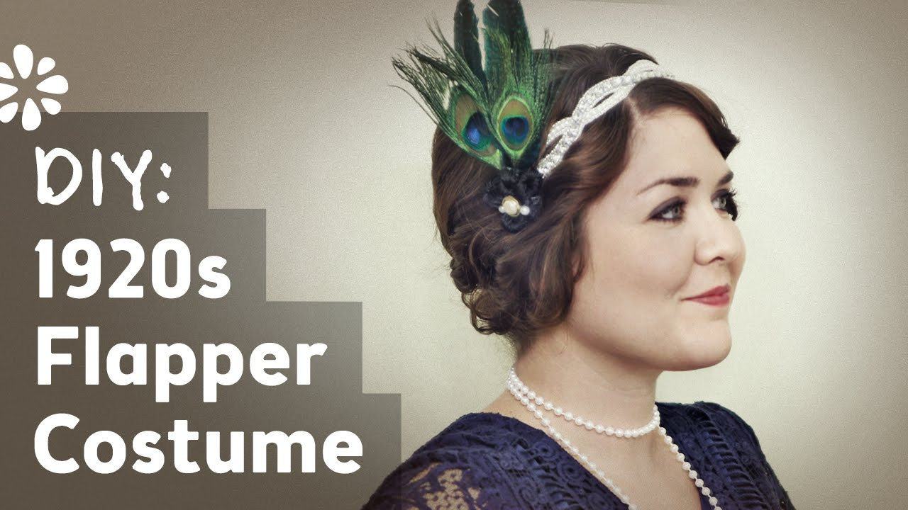 Best ideas about DIY Flapper Costume . Save or Pin DIY Flapper Halloween Costume Now.