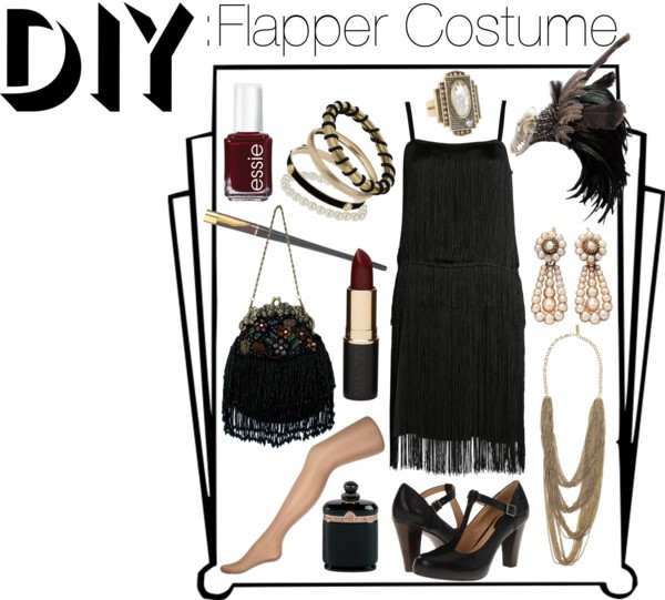 """Best ideas about DIY Flapper Costume . Save or Pin """"DIY Flapper Costume"""" by theekissoflife on Polyvore Now."""