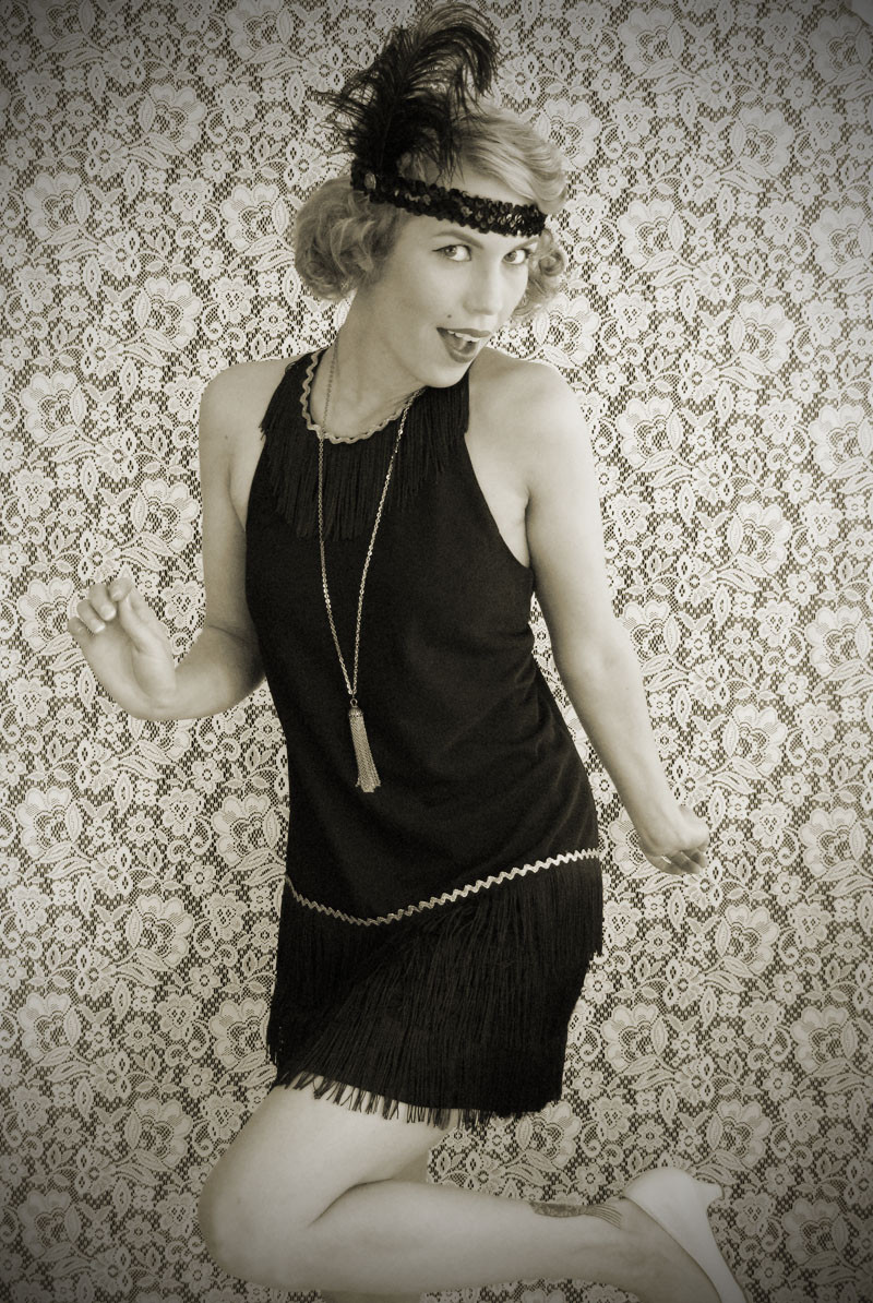 Best ideas about DIY Flapper Costume . Save or Pin Wear The Canvas DIY Flapper Dress Costume Now.