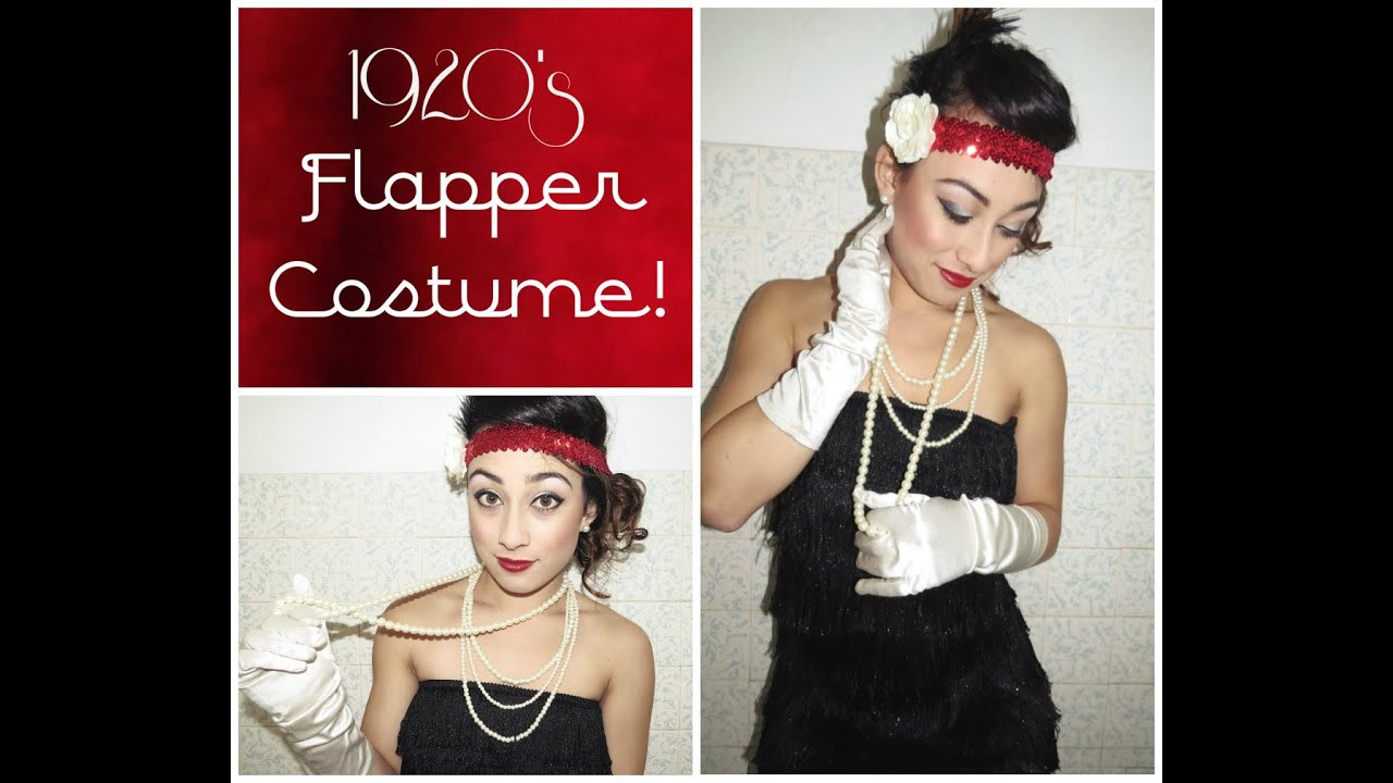 Best ideas about DIY Flapper Costume . Save or Pin DIY 1920 S Flapper Costume Tutorial Now.