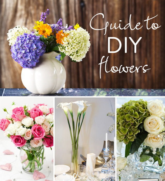 Best ideas about DIY Flowers For Wedding . Save or Pin The Guide to DIY Flowers The How Much When to Buy Now.
