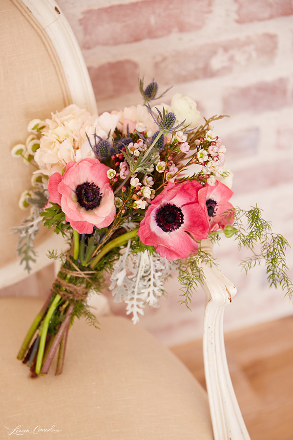 Best ideas about DIY Flowers For Wedding . Save or Pin Wedding Bells DIY Bridal Bouquet and Boutonnière Lauren Now.