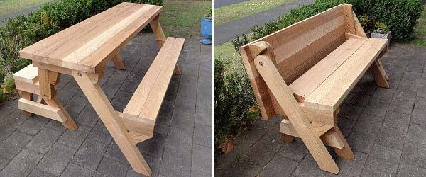 Best ideas about DIY Folding Picnic Table . Save or Pin 50 Free DIY Picnic Table Plans for Kids and Adults Now.