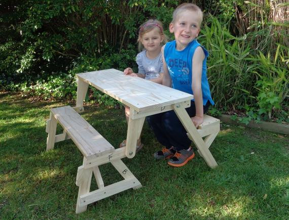 Best ideas about DIY Folding Picnic Table . Save or Pin Kids Folding Picnic Table DIY Woodworking Plan Now.