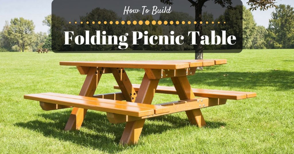 Best ideas about DIY Folding Picnic Table . Save or Pin How to Build a Folding Picnic Table Now.