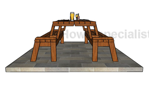 Best ideas about DIY Folding Picnic Table . Save or Pin Folding Picnic Table Plans Now.