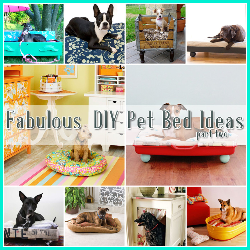 Best ideas about DIY For Dogs . Save or Pin 25 Fabulous DIY Pet Bed Ideas Part 2 Now.