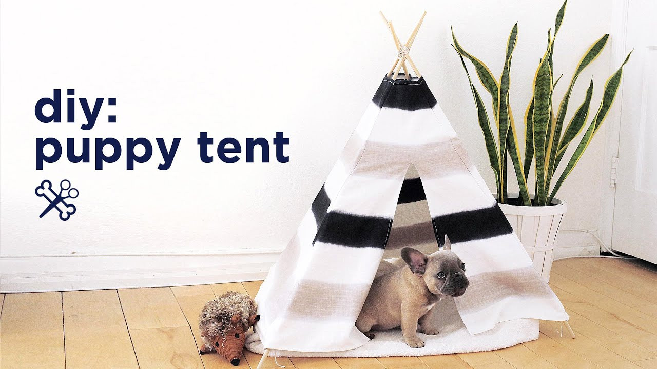 Best ideas about DIY For Dogs . Save or Pin DIY PUPPY PET TENT Now.