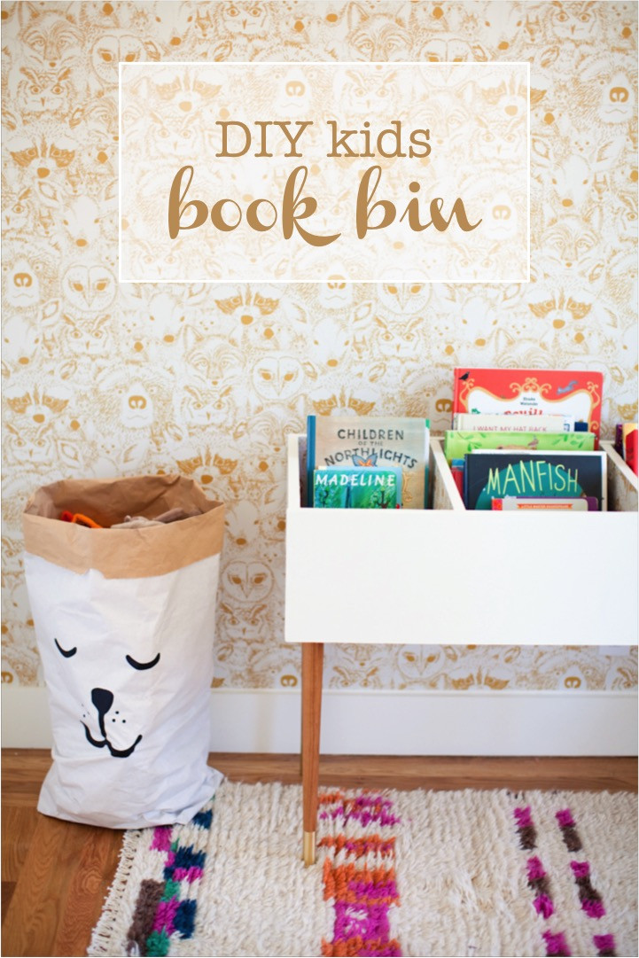 Best ideas about DIY For Kids . Save or Pin DIY kids book bin Now.