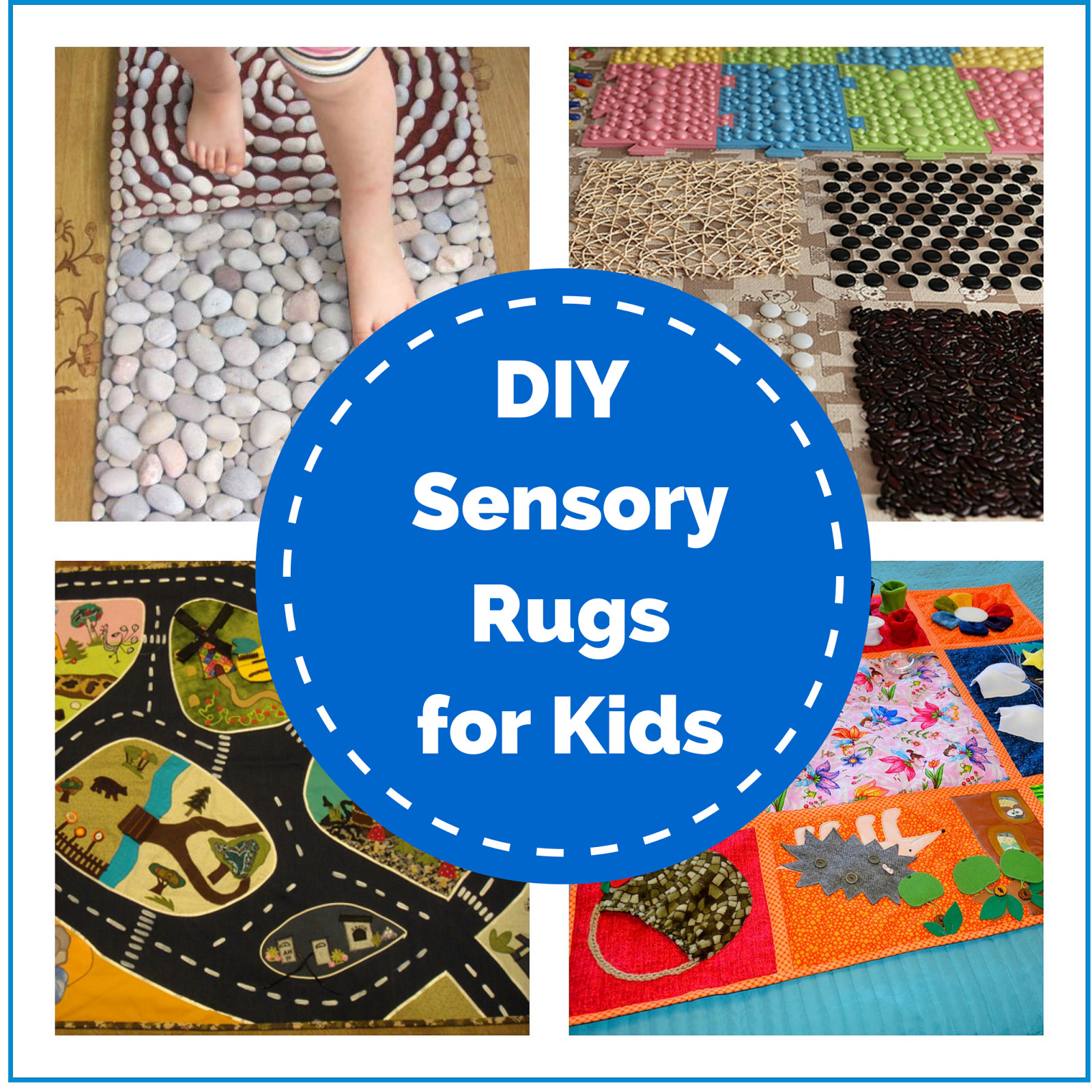 Best ideas about DIY For Kids . Save or Pin DIY Sensory Rugs for Kids Montessori Nature Now.