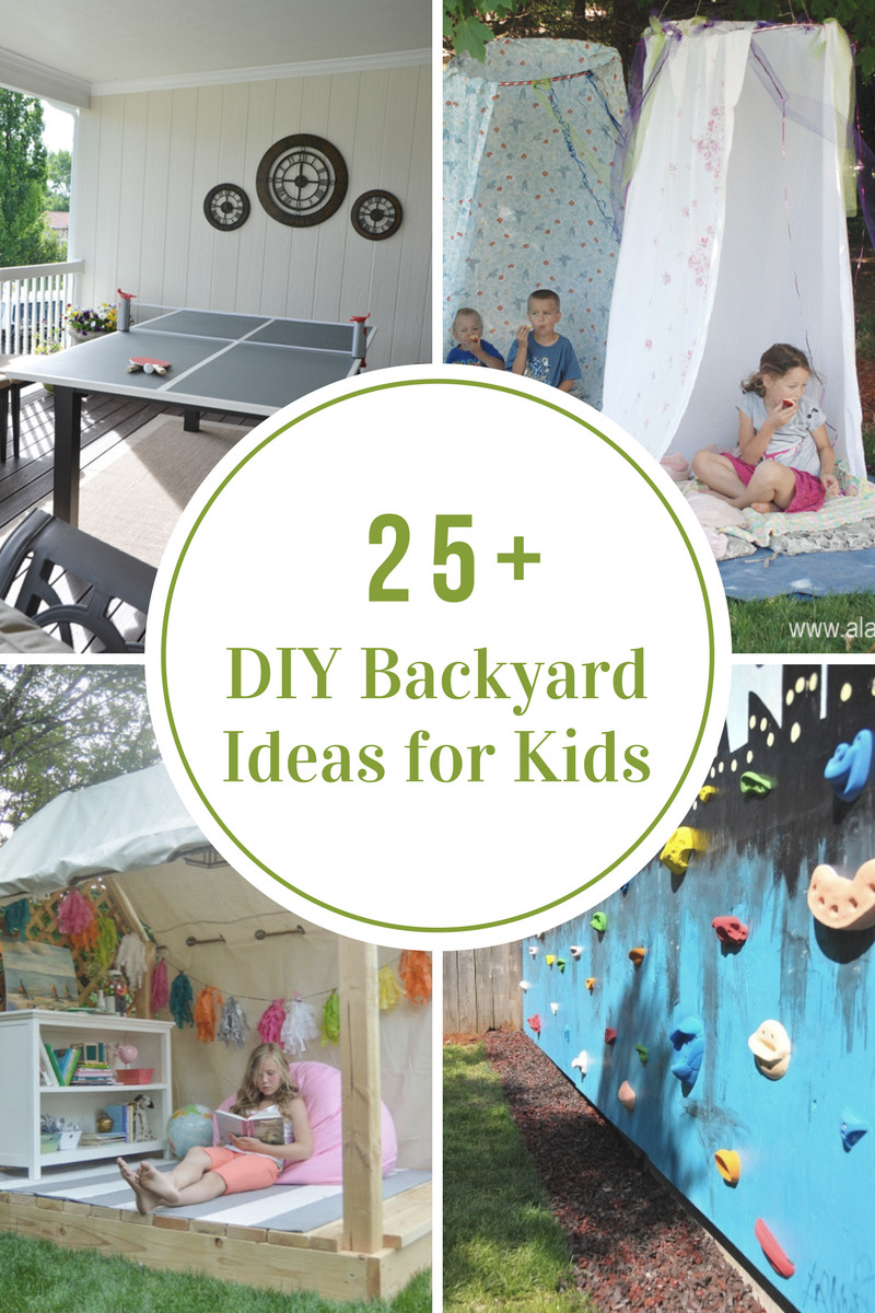 Best ideas about DIY For Kids . Save or Pin DIY Backyard Ideas for Kids The Idea Room Now.