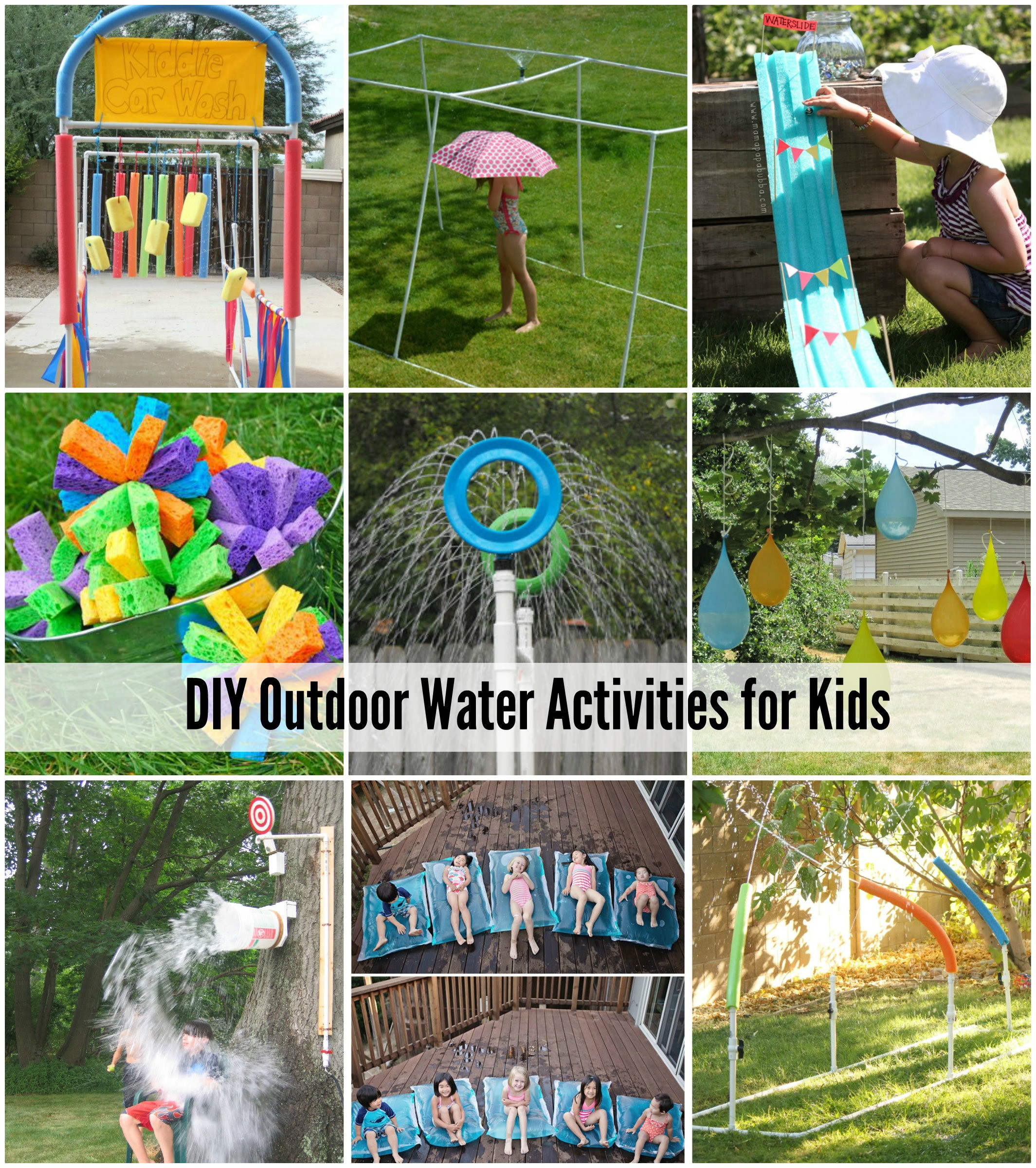 Best ideas about DIY For Kids . Save or Pin 25 Water Games & Activities For Kids Now.