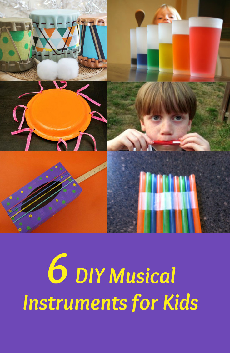 Best ideas about DIY For Kids . Save or Pin 6 DIY Musical Instruments for Kids Fabulessly Frugal Now.