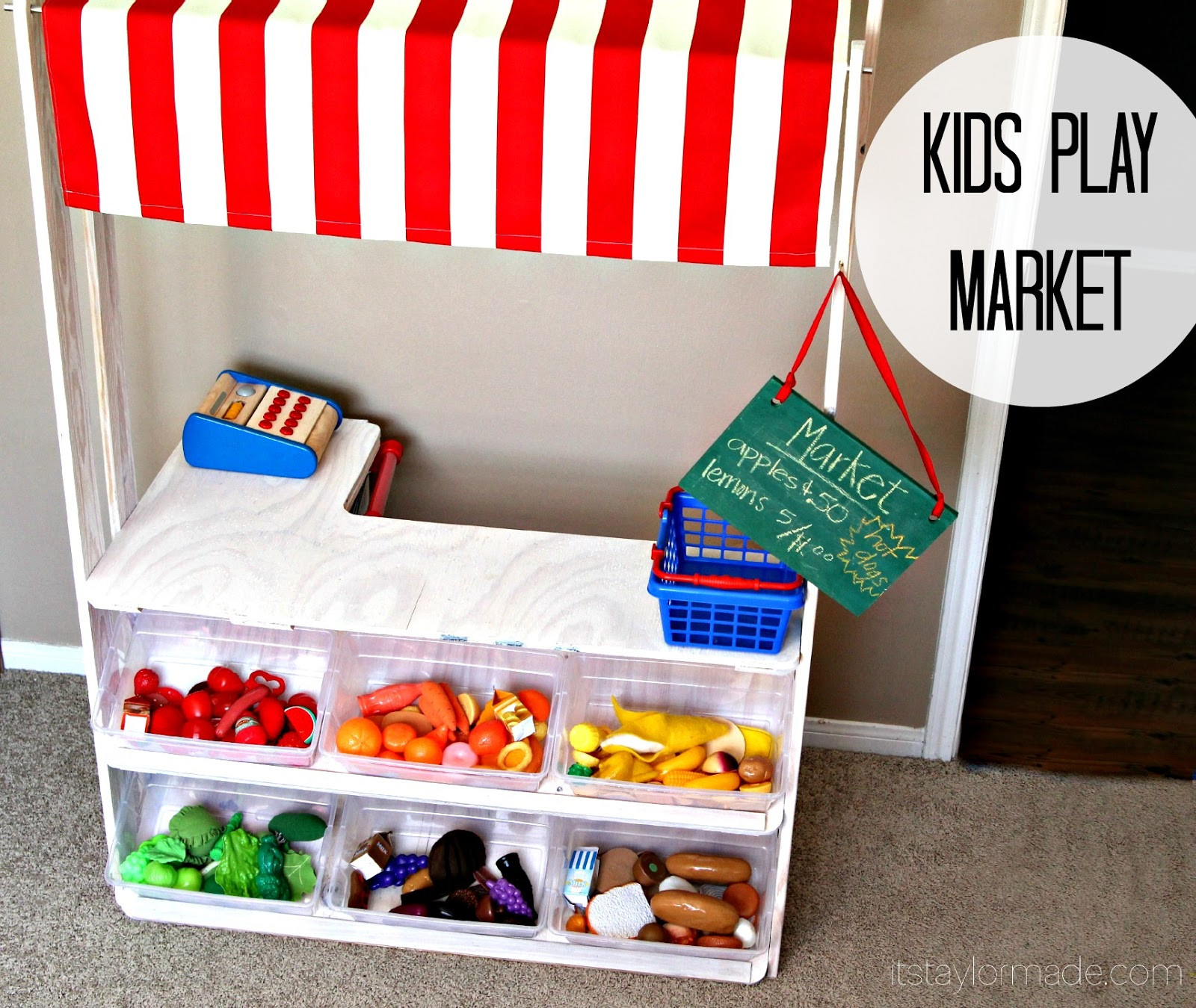 Best ideas about DIY For Kids . Save or Pin DIY Kids Play Market TaylorMade Now.