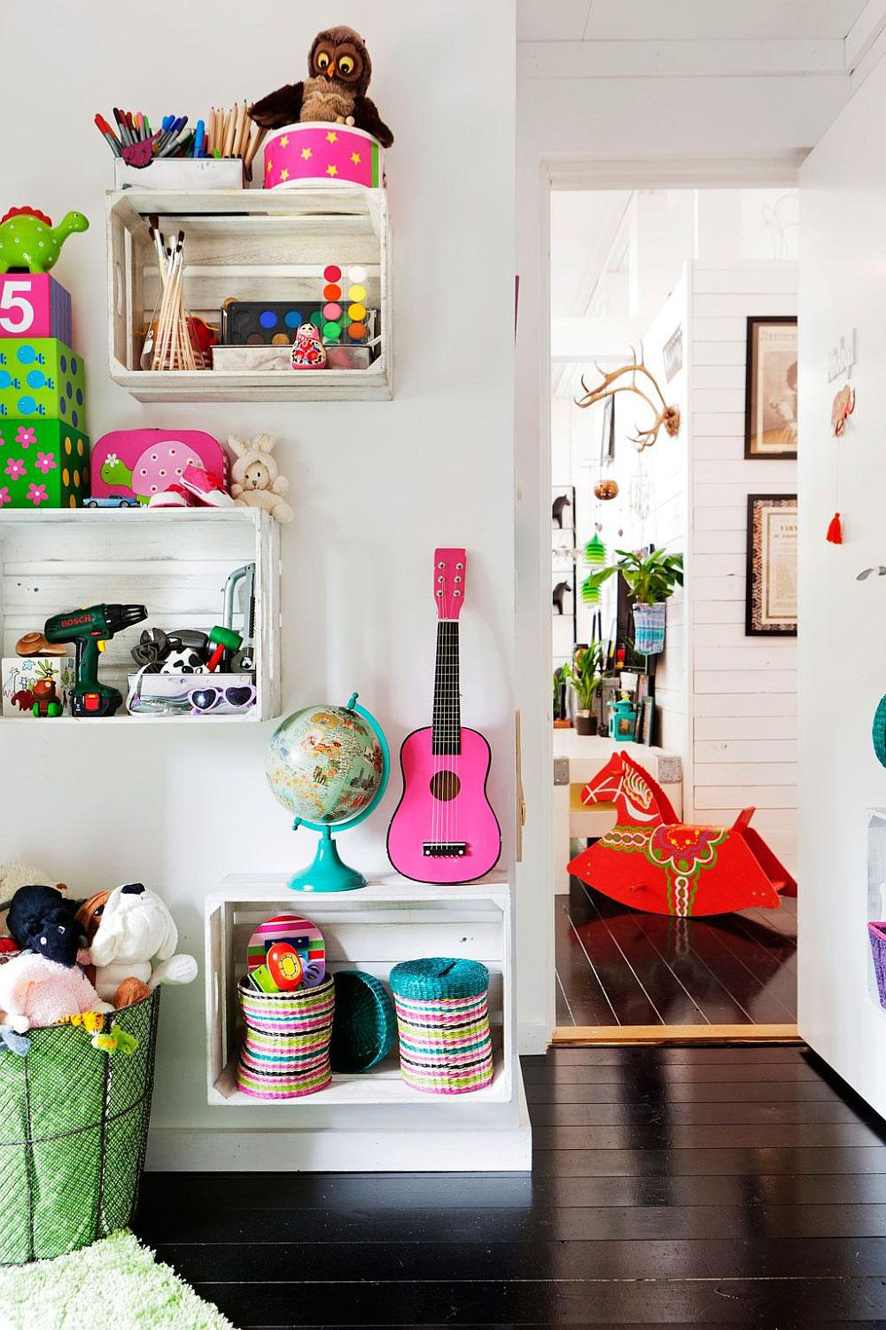 Best ideas about DIY For Kids Rooms . Save or Pin 11 Space Saving DIY Kids' Room Storage Ideas that Help Now.