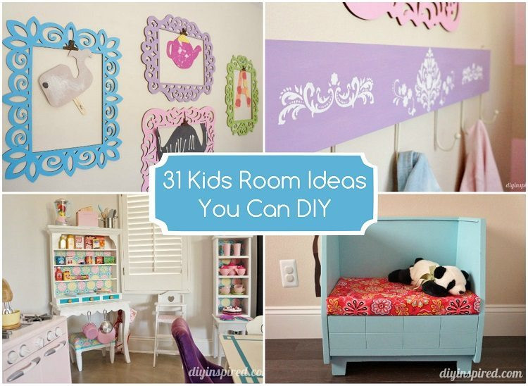 Best ideas about DIY For Kids Rooms . Save or Pin 31 Kids Room Ideas You Can DIY DIY Inspired Now.