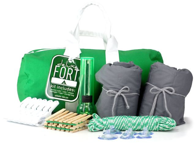 Best ideas about DIY Fort Kit . Save or Pin fort kit in action Now.
