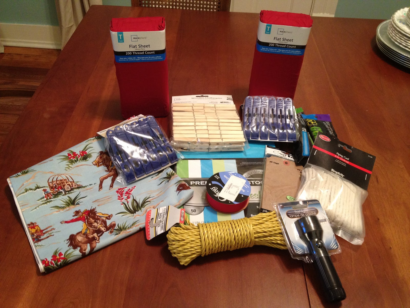 Best ideas about DIY Fort Kit . Save or Pin The Simpson Six DIY Gift A Fort Kit Now.