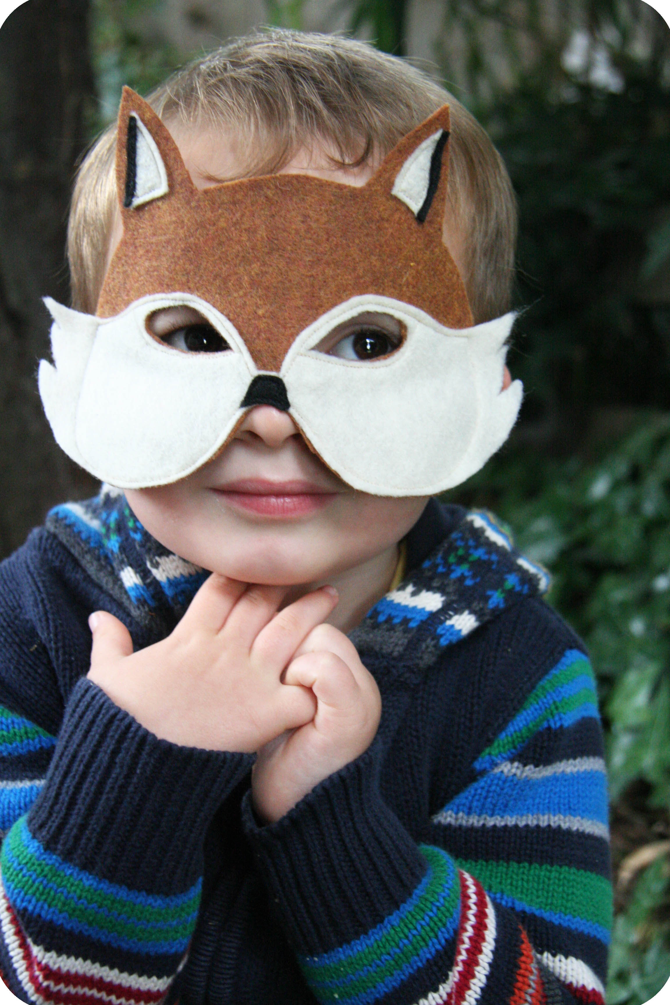 Best ideas about DIY Fox Mask . Save or Pin fox mask DIY Now.