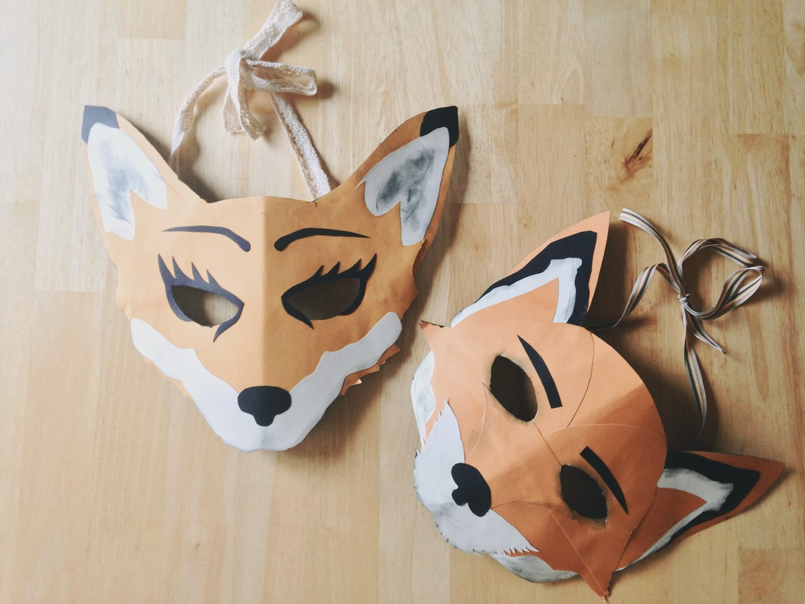 Best ideas about DIY Fox Mask . Save or Pin oh whimsical me A Few Last Minute Costume Ideas Now.