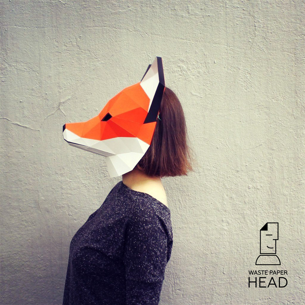 Best ideas about DIY Fox Mask . Save or Pin Papercraft fox mask printable DIY template Now.