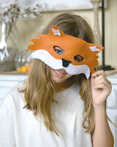 Best ideas about DIY Fox Mask . Save or Pin DIY Fox Mask for Kids Under $3 Life of Alley Now.